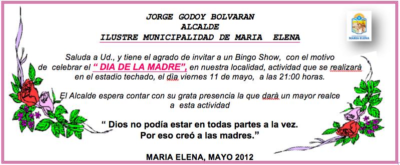 Bingo Show Dia De La Madre Viernes 11 De Mayo